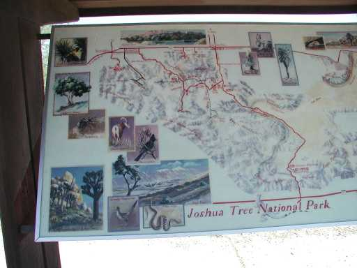 Joshua Tree NP map